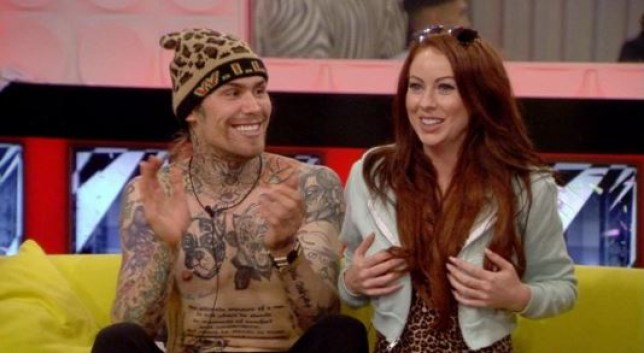 Marco Pierre White Jr and Laura Carter have gotten close (Picture: Channel 5)