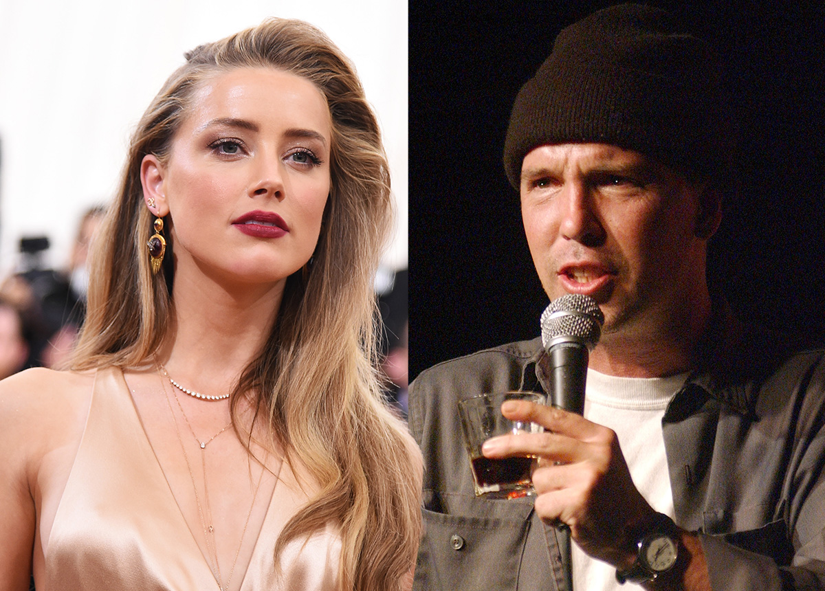 Amber Heard sues Johnny Depp's friend Doug Stanhope for 'accusing her of blackmail'