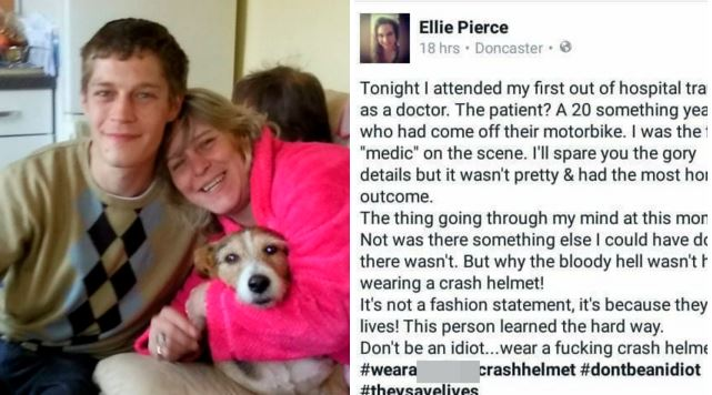Doctor criticised dead patient on Facebook