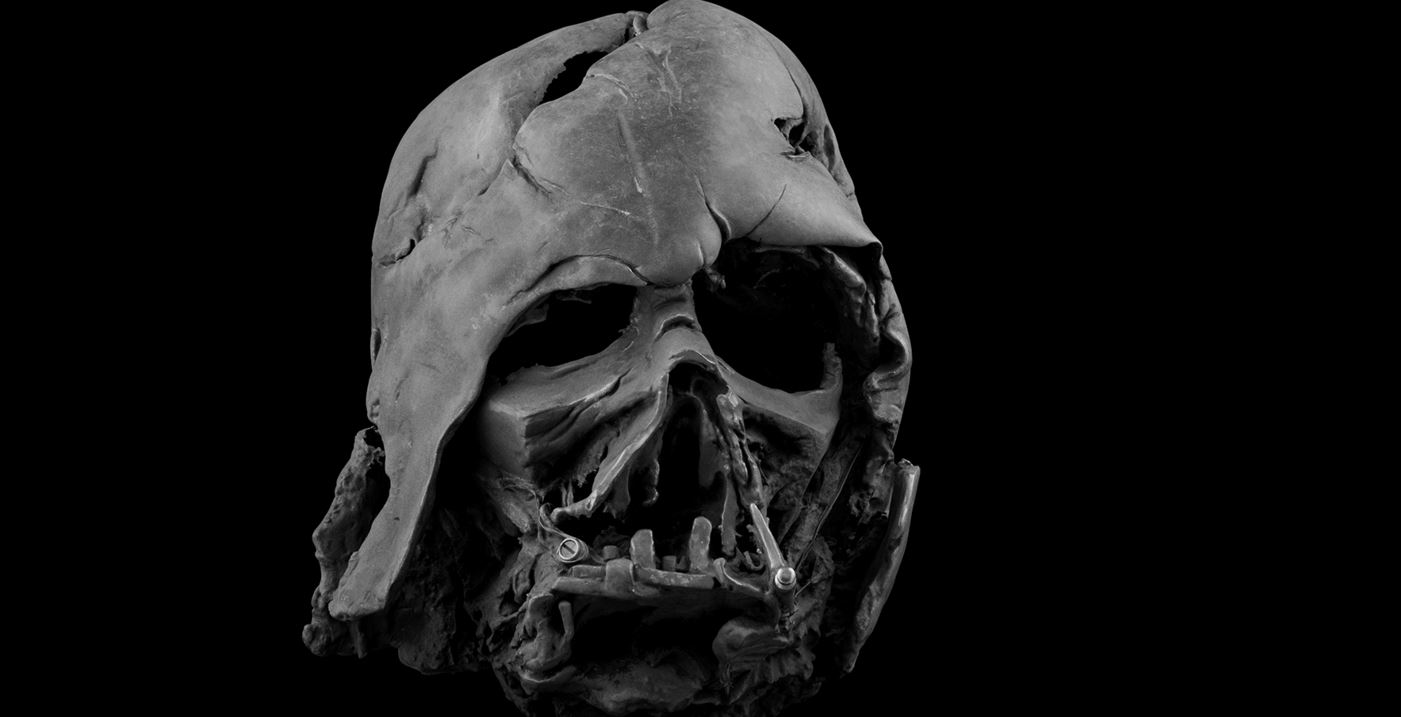 You can now buy Darth Vader's melted helmet from Star Wars: The Force Awakens