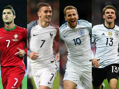 Harry Kane, Thomas Muller & the Euro 2016 Golden Boot contenders