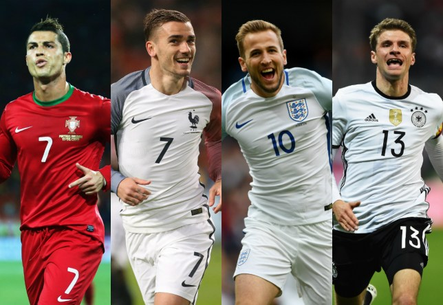 A host of world-class forwards will battle it out in France (Picture: Getty Images)