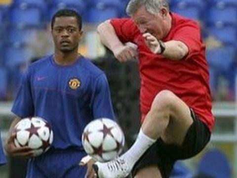 Manchester United legend Patrice Evra mocks Sir Alex Ferguson on Instagram