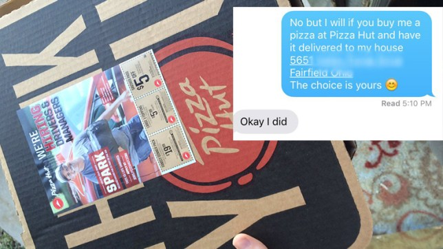 This Guy Managed To Trick His Friend's Cheating Boyfriend Into Buying Him Pizza