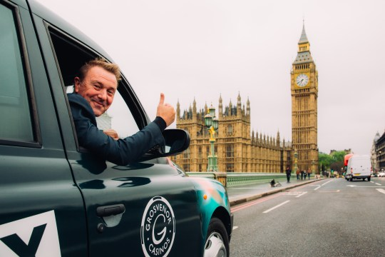 Grosvenor Casino's World's Smallest Travelling Casino with Phil Tufnell