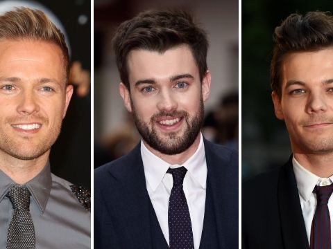 Nicky Byrne, Jack Whitehall and Louis Tomlinson being lined-up for Jamie Vardy movie