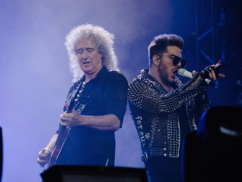 Adam Lambert addresses those rumours he's making new music with Queen