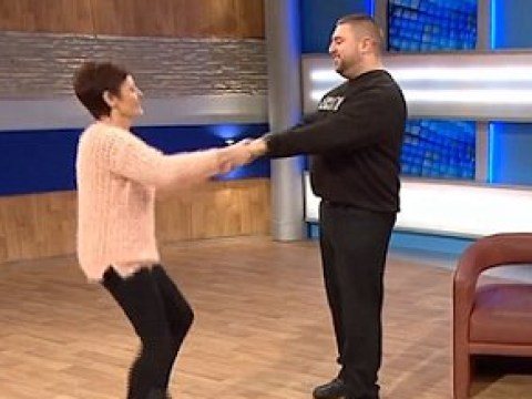 This is the moment Jeremy Kyle got his security guard Jimmy dancing on stage