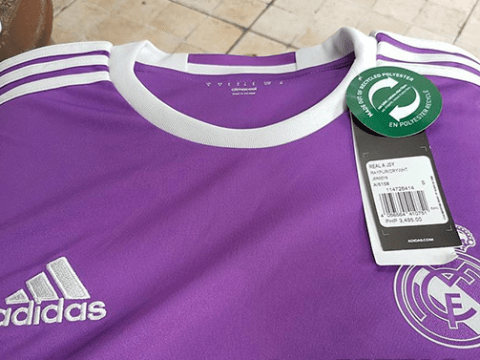 Purple reign: European champions Real Madrid's new away kit leaked