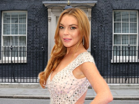 Calls for Lindsay Lohan to take over from David Cameron after her hilarious tweets and Instagrams for #Remain
