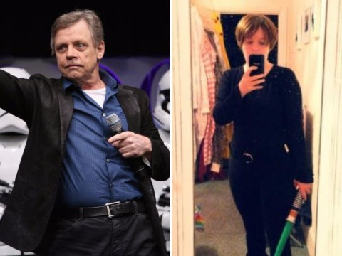 Mark Hamill gave the best answer to a female fan who wanted to dress up as Luke Skywalker