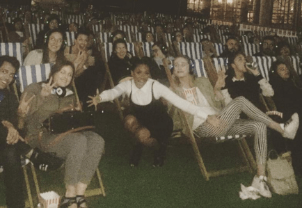 Mel B surprises fans by making an appearance at Spice World screening