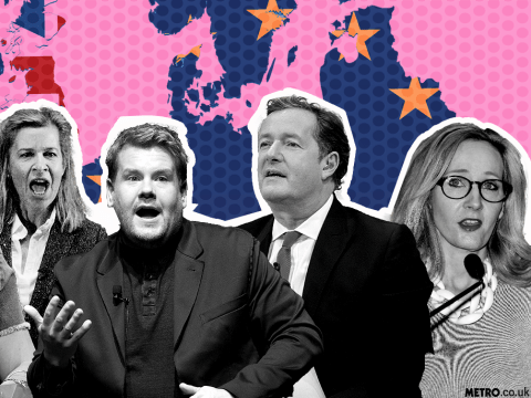 Here's what celebrities had to say about the EU Referendum result