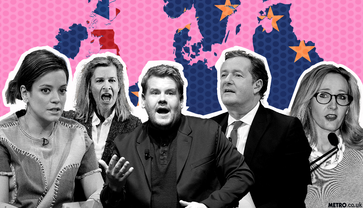 Celebs wake up to the EU ref news - and here's what who had to say Picture: REX Features - Credit: MylesGoode