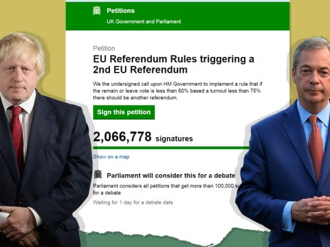 2 million people sign petition calling for a second EU referendum