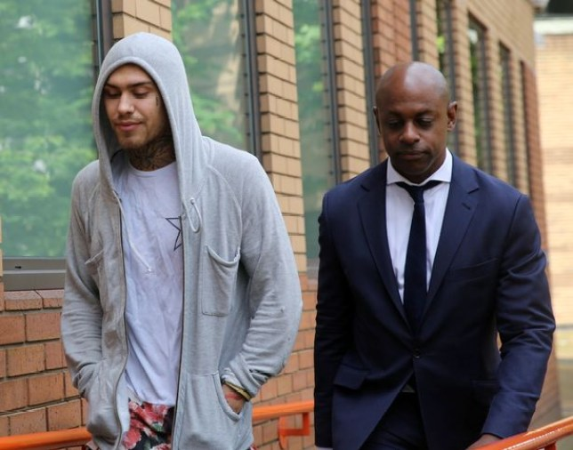 Marco Pierre Whte Jr faces court over drug driving (Picture: SWNS)