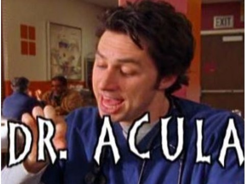 Zach Braff announces Scrubs spin-off movie Dr Acula is 'finally in production'