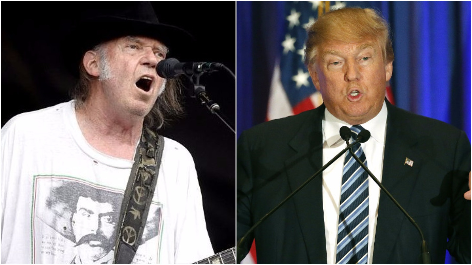 Neil Young writes his own angry headline to deny he ever let Donald Trump use his song at rallies