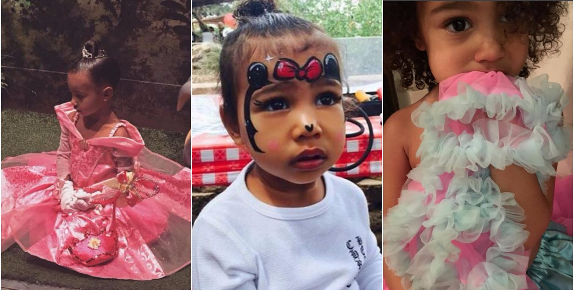 The Kardashians showered North West with Instagram love on her 3rd birthday