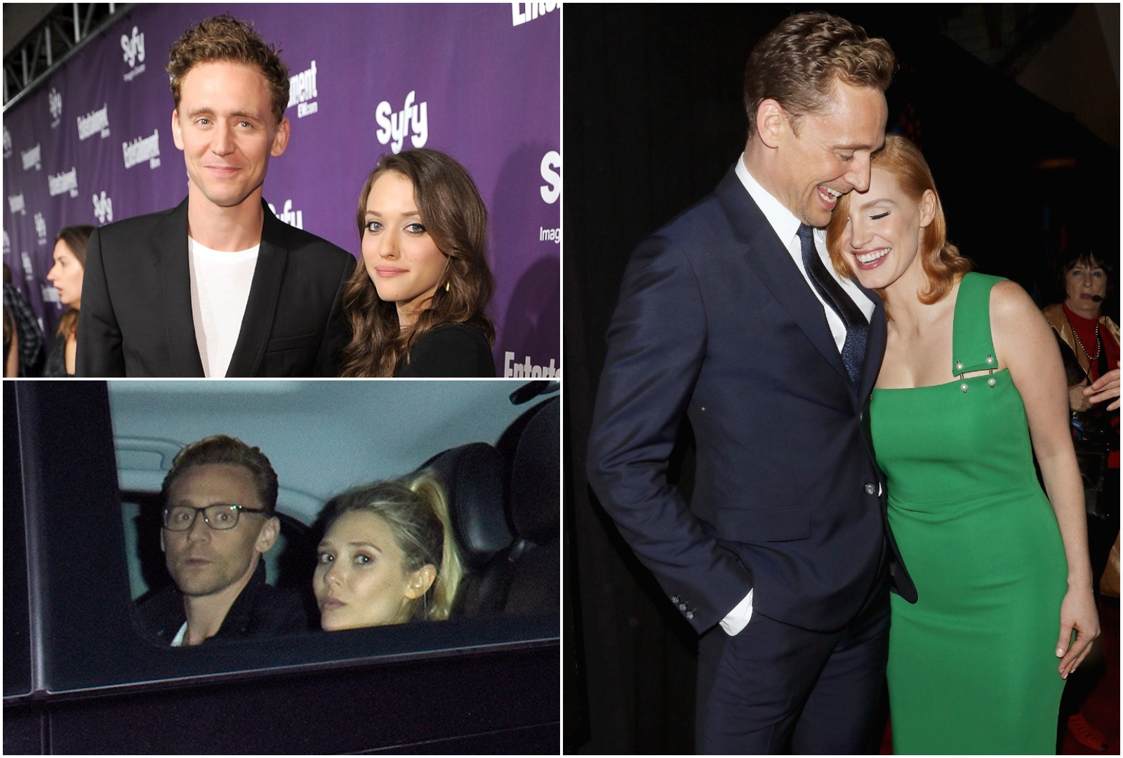 Tom Hiddleston romanced a fair few famous women before Taylor Swift