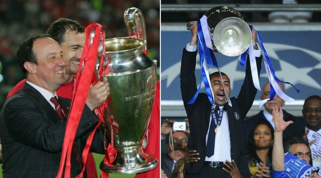 Championship managers Rafa Benitez and Roberto Di Matteo have both won the Champions League (Picture: Getty Images)
