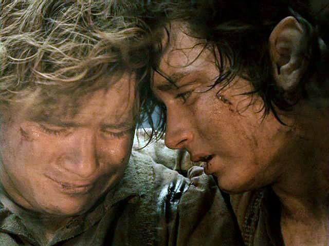 Samwise Gamgee and Frodo Baggins in Lord Of The Rings (Picture: New Line Cinema)