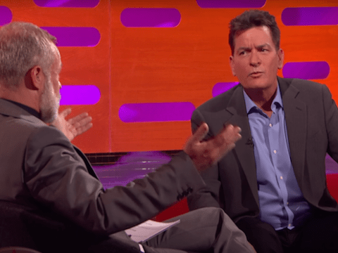 Charlie Sheen says billionaire Donald Trump gifted him fake diamond cufflinks