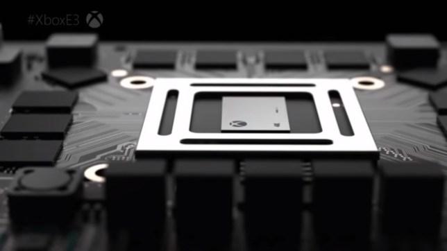 Xbox One X chip