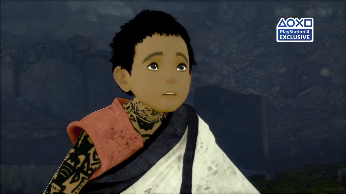 The Last Guardian - he looks as shocked as we are