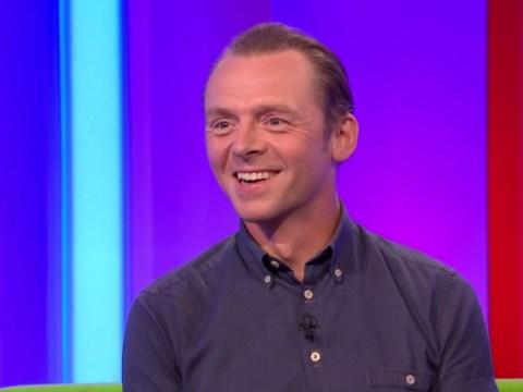 WATCH: Simon Pegg just compared Boris Johnson to a Star Trek villain