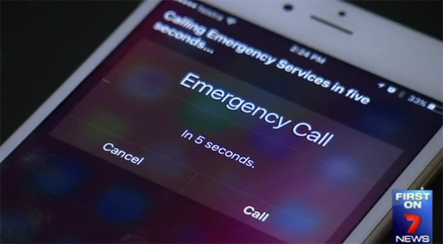 Siri call