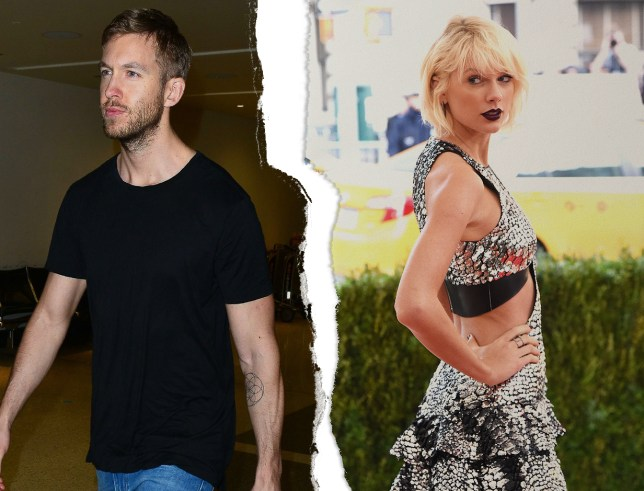 Calvin Harris and Taylor Swift have called it quits (Picture: REX Features/METRO/Mylo)