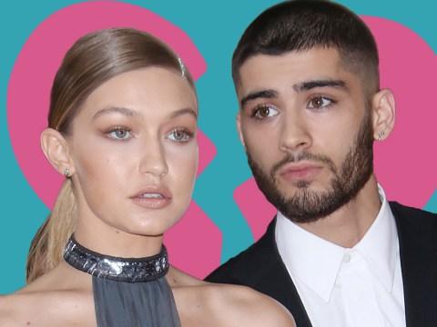First Calvin Harris and Taylor Swift – now Zayn Malik and Gigi Hadid 'split'