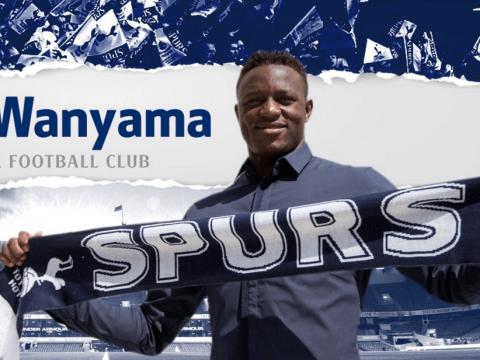 Tottenham Hotspur announce Victor Wanyama transfer