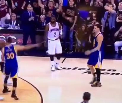 Golden State Warriors star Steph Curry ejected for throwing mouthpiece at fan during NBA Finals