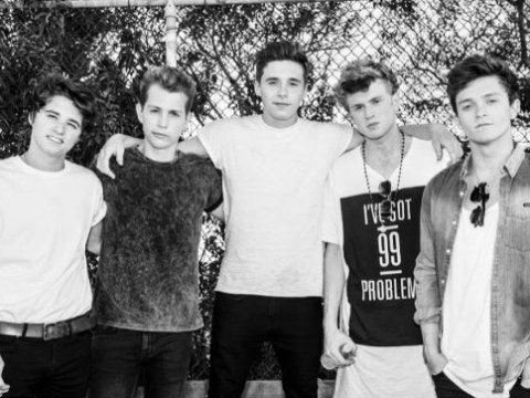Brooklyn Beckham to 'spit bars' on new The Vamps album