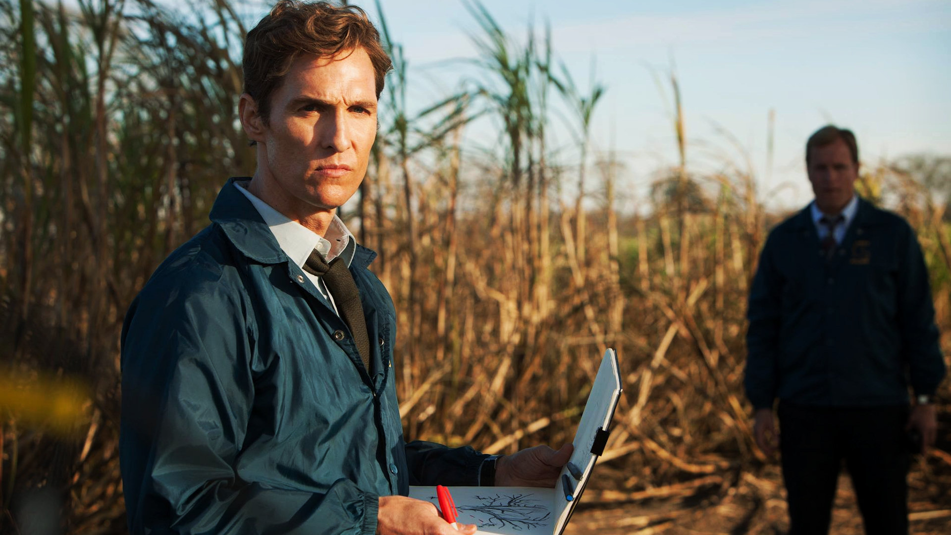 Matthew McConaughey starred in the first series of True Detective (Picture: HBO)