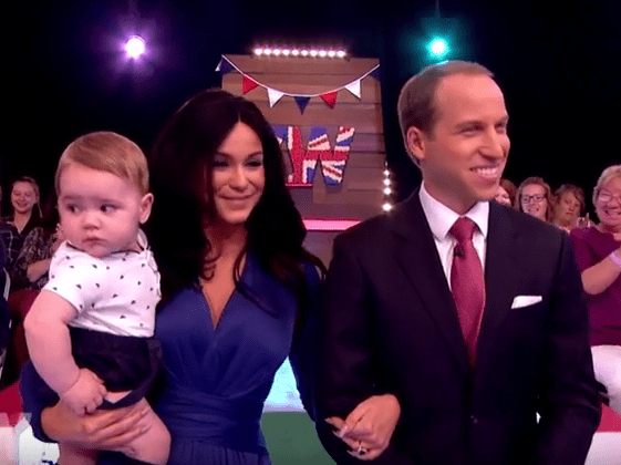 Just Vicky Pattison dressed up as Kate Middleton on Loose Women