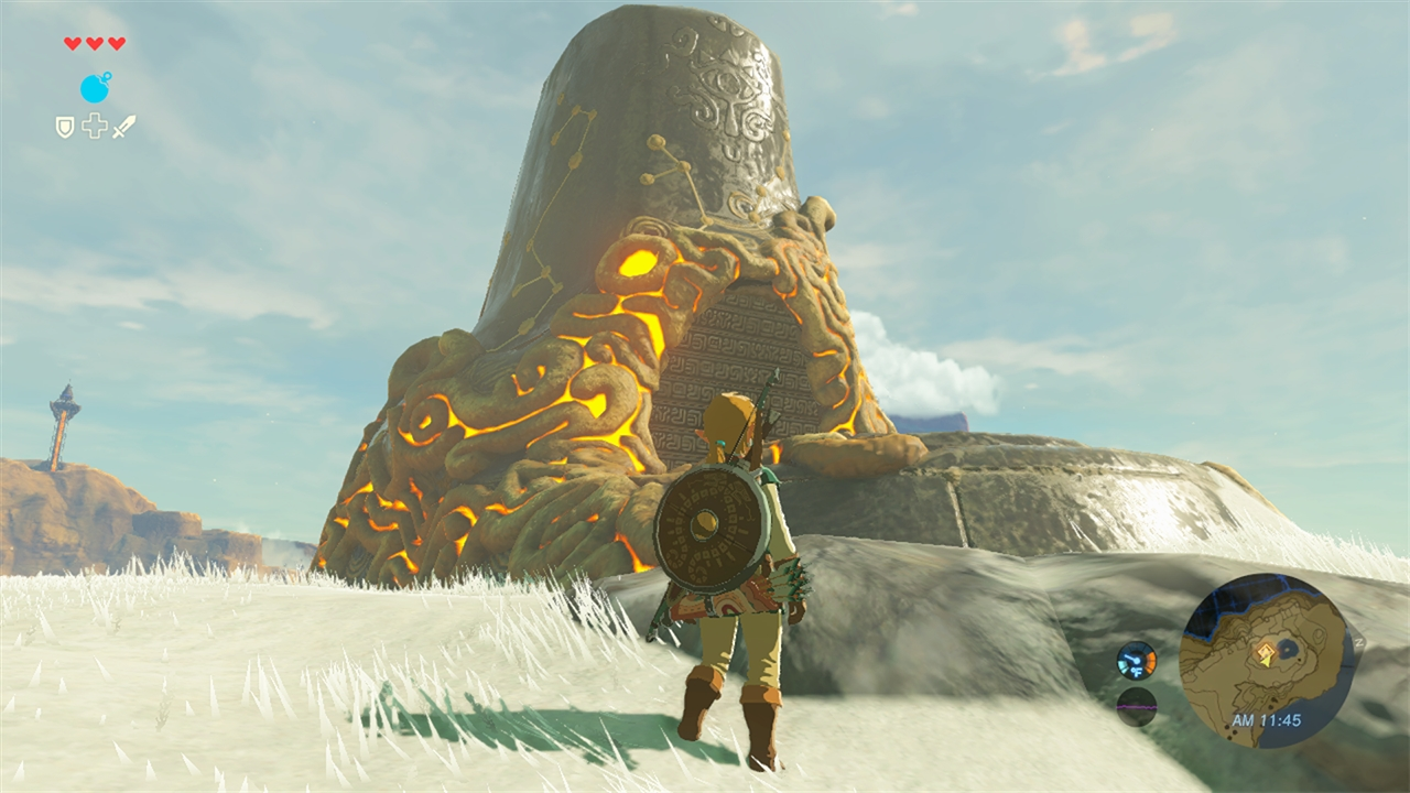 The Legend Of Zelda: Breath Of The Wild - this is what the shrine entrances look like