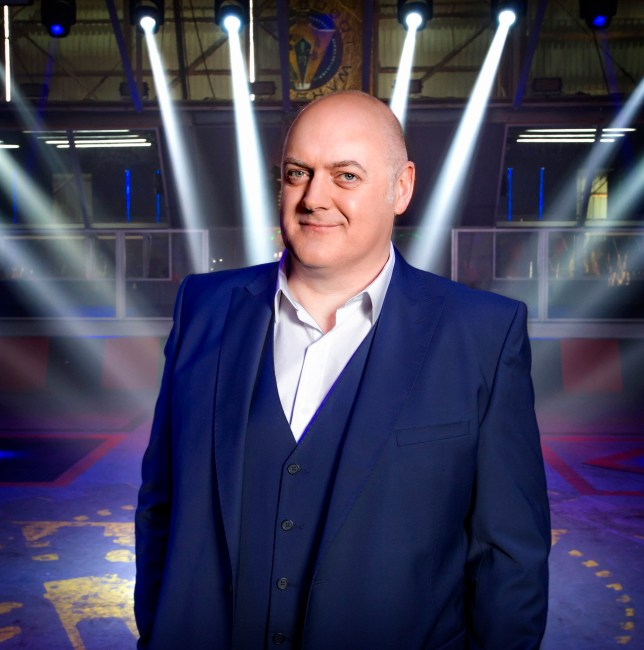 WARNING: Embargoed for publication until 00:00:01 on 07/07/2016 - Programme Name: Robot Wars - TX: n/a - Episode: n/a (No. n/a) - Picture Shows: Dara O Briain - (C) Mentorn Media Scotland - Photographer: Alan Peebles