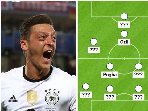Germany and France combined XI, with Mesut Ozil and Paul Pogba in star-studded side