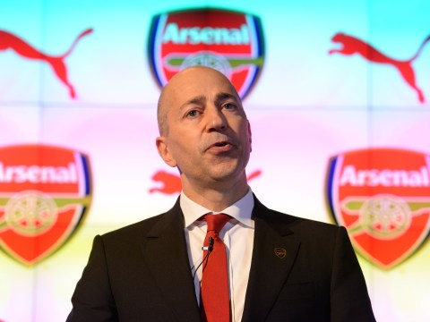 Ivan Gazidis admits Arsenal can't outgun rivals in the transfer market
