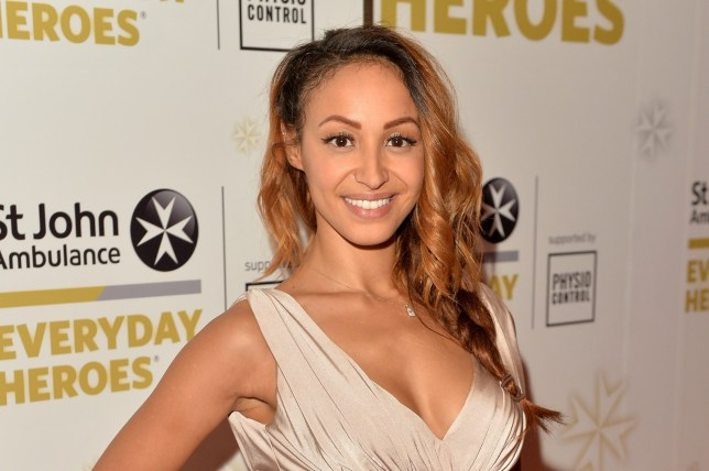 LONDON, ENGLAND - JULY 01: Amelle Berrabah attends the St John Ambulance's Everyday Heroes Awards, a star-studded celebration of the nation's life savers at Lancaster London Hotel on July 1, 2015 in London, England. (Photo by Anthony Harvey/Getty Images for St John Ambulance)