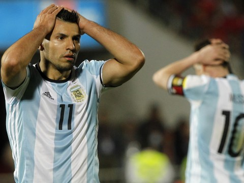 Is Sergio Aguero ready to follow Lionel Messi into international retirement?