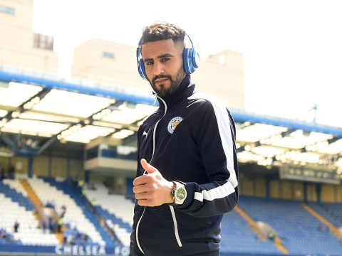 Have Adidas just revealed Chelsea have hijacked Arsenal's deal for Leicester City ace Riyad Mahrez?