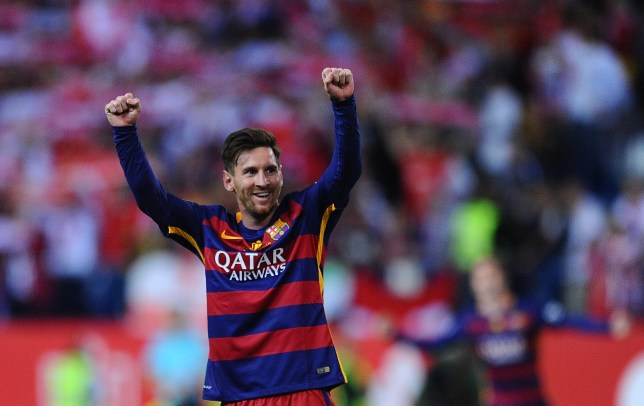 6902e385346 Lionel Messi has been approached by Chelsea (Picture  Getty)