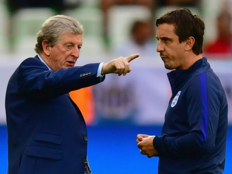 Gary Neville labels apparent rift with Roy Hodgson as 'b*******!'