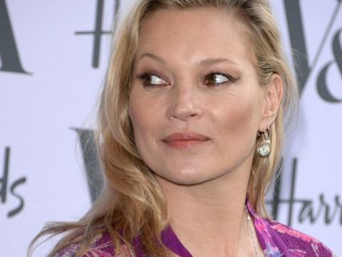 Kate Moss's T-shirt is the perfect f**k you to the paparazzi