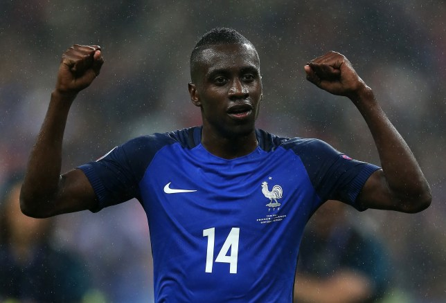 PARIS, FRANCE - JULY 03: Blaise Matuidi of France celebrates at full-time following the UEFA Euro 2016 Quarter Final match between France and Iceland at Stade de France on July 03, 2016 in Paris, France. (Photo by Chris Brunskill Ltd/Getty Images)
