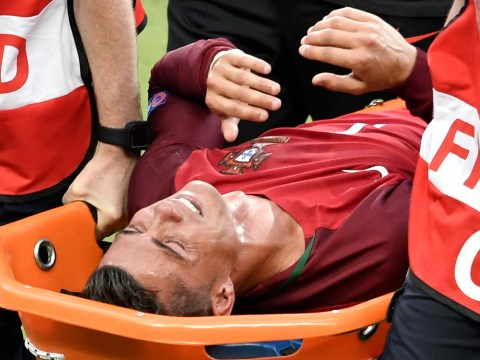 Cristiano Ronaldo OUT of Euro 2016 final after strong tackle from Dimitri Payet